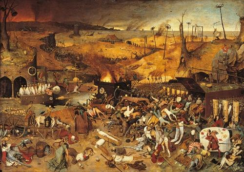 ピーテル・ブリューゲル『死の勝利』The Triumph of Death (1562)(写真:Mondadori/アフロ)