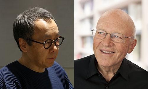 エンパワーメントを実践してきた星野氏(左)と理論を確立するブランチャード氏がコロナ禍のエンパワーメントについて話した(写真=左:栗原克己)