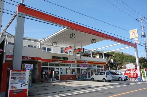 栃木県大田原市にあるガソリンスタンド「かなめ須佐木SS」。一時は閉鎖の話が持ち上がったが、地域住民の有志が新会社を設立して運営を引き継いだ