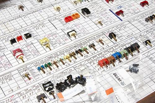 JICOは2200種類に及ぶレコード針を手掛けている