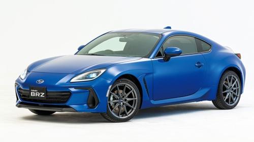 トヨタ自動車と共同開発された「SUBARU BRZ」。国内では21年夏に発売予定