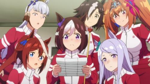 熱いスポ根アニメとしても話題に (c)2021 アニメ「ウマ娘 プリティーダービー Season 2」製作委員会