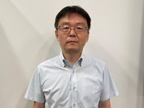 ソフトバンクの田中氏。公共の場を中心としてSureTalkの利用を広げていきたい考えを示している