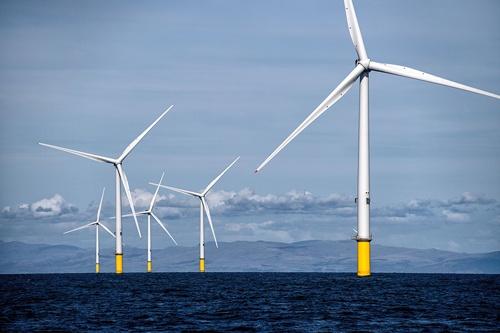 オーステッドの洋上風力発電所