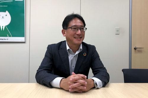 「新市場再編を踏まえ、どうすべきか悩んでいる企業も多い」と話すりそな銀の三谷恵太・ソリューションビジネス部長