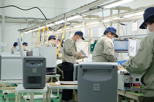 ディープフリーザーの貢献で21年2月期は増収増益に。製造ラインを増設した