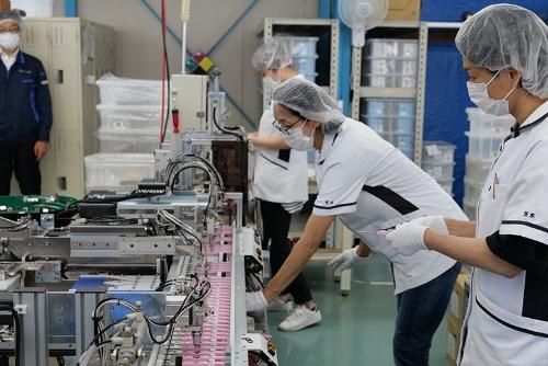 千葉県流山市のアイオニックは海外販路の開拓に力を入れてきた歯ブラシメーカーだ