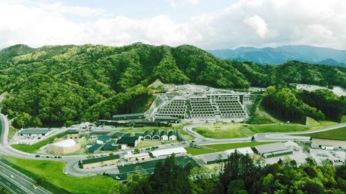 ヴィソンの全景。敷地面積は約119ヘクタールで、東京ドーム24個分に相当する。開発面積は約54ヘクタール(約54万平方メートル)