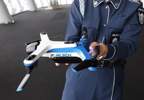 ALSOKは完全自律型のドローンを飛ばして巡回警備に当たる