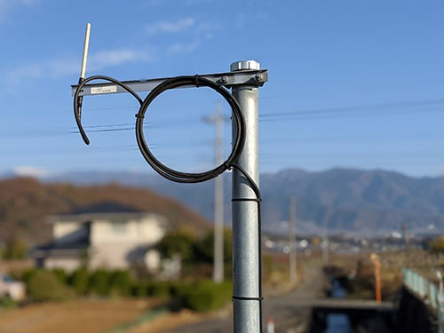 NTT東日本は低コストな無線通信ネットワークを使って地域の情報を集約する簡易版スマートシティーの構築を進める