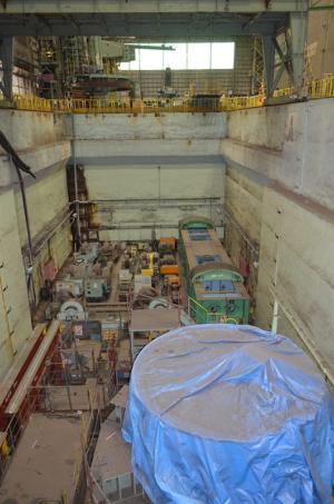 圧力容器の製造施設。9年前まで製造が止まることがなかった
