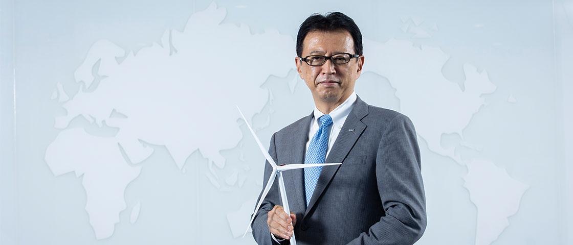 「風力でアジアを攻める」 福島事故で消えかけた灯を燃やした男