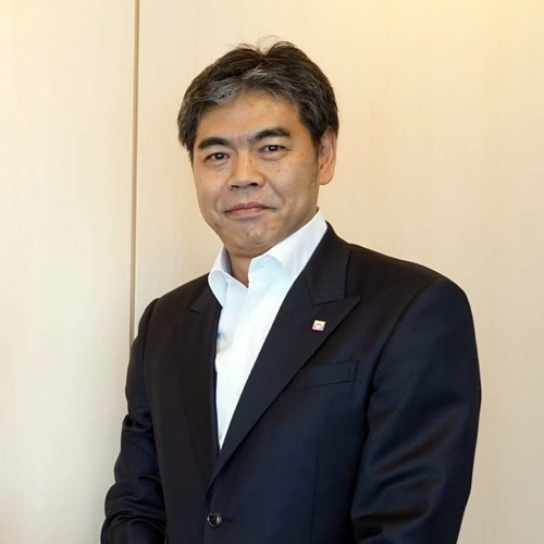 「今度こそイノベーションの波に乗り遅れてはいけない」と危機感をあらわにするエムケイ(京都市)社長の青木信明氏