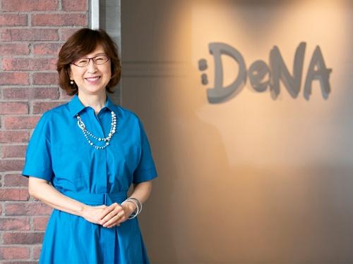 1962年、新潟市生まれ。86年津田塾大を卒業後、マッキンゼー・アンド・カンパニーに入社。90年、ハーバード大にてMBA(経営学修士)取得。96年マッキンゼーにてパートナー就任。99年にディー・エヌ・エー(DeNA)を設立。2011年に社長兼CEO(最高経営責任者)を退任、現在会長に。2015年から横浜DeNAベイスターズオーナー。内閣府の成長戦略会議に有識者として参加。21年6月からは経団連副会長に就任。(写真:的野弘路)