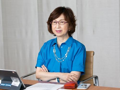 ディー・エヌ・エー(DeNA)会長の南場智子氏(写真:的野弘路)