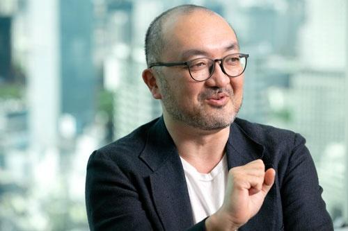 Uniposの田中弦代表取締役CEO(写真=的野弘路)