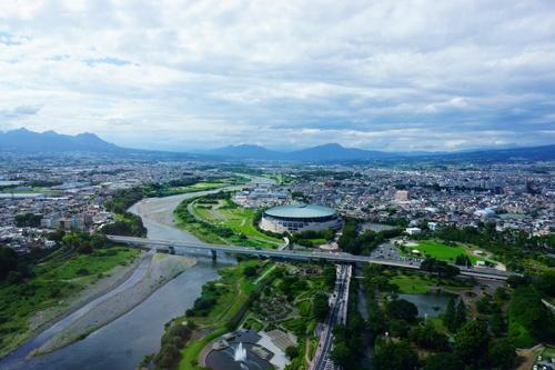 群馬県の県庁所在地である前橋市も、スーパーシティの公募に応じた自治体の一つだ(写真:PIXTA)