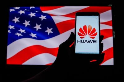 アメリカ政府は中国の通信機器大手、ファーウェイ(華為技術)に制裁を加えている(写真:anhafiz29/Shutterstock.com)