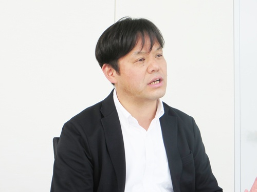 <b>佐野 徹(さの・とおる)氏</b><br> スポーツ局担当部次長(兼)スポーツ事業推進部プロデューサー