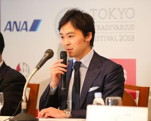 「東京ストラディヴァリウス フェスティバル2018」開催に関する記者発表
