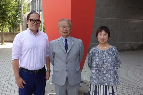 左から、秦舟氏、沖村憲樹氏、米山春子氏(プロフィールは後述)