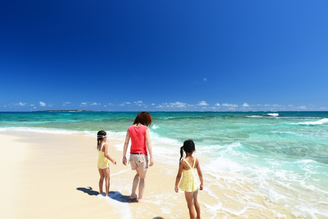 沖縄のビーチは世界に誇れる美しさ(写真/Shutterstock)