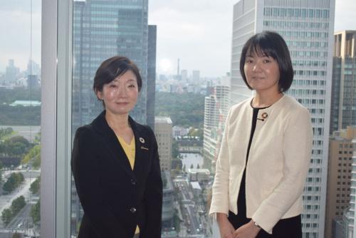 経営企画部SDGs推進室の布川氏(左)と川那部氏