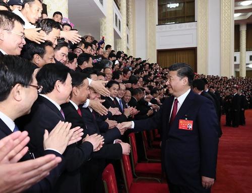 習近平総書記は権力基盤をさらに強めた(写真:新華社/アフロ)