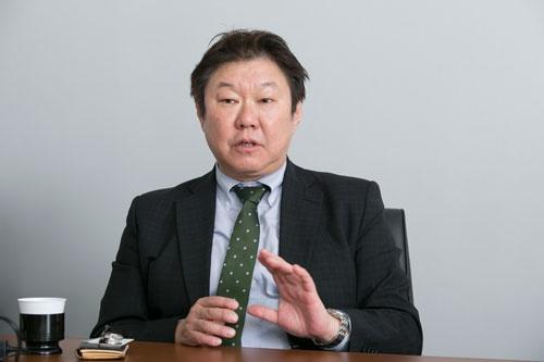 出口氏の学長の就任の選考委員長を務めたAPUの今村正治副学長。