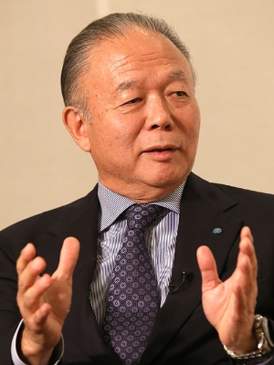YKKの吉田忠裕会長CEO(写真:秋元忍)