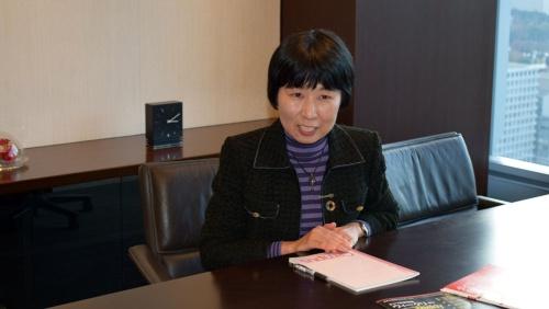 投資情報部長の花岡幸子氏