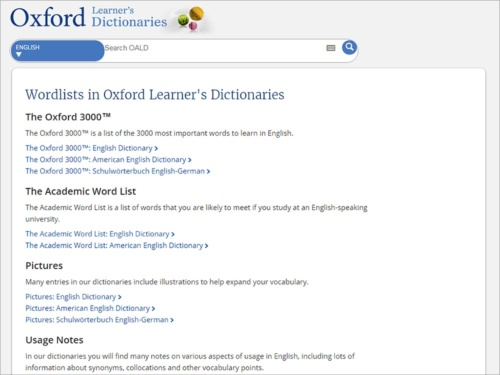 """「<a href=""""http://www.oxfordlearnersdictionaries.com/wordlist/"""" target=""""_blank"""">The Oxford 3000</a>」の単語がわかれば十分。"""