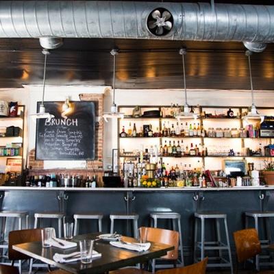 ブルックリンの人気カフェ、The Bedford(写真:Chiaki Kato)