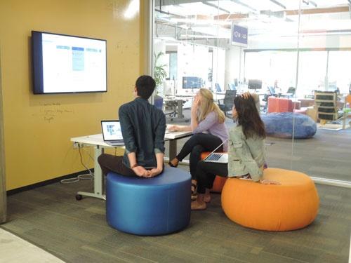 SAPは世界各地に「イノベーション・センター」を開設。デザイン思考を基に、新事業の開発や顧客との事業立ち上げプロジェクトを進めている。