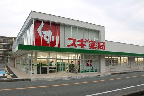 スギ薬局を中心に、グループで1000店舗以上を展開する