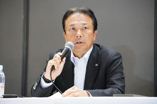 味の素常務執行役員 藤江太郎氏