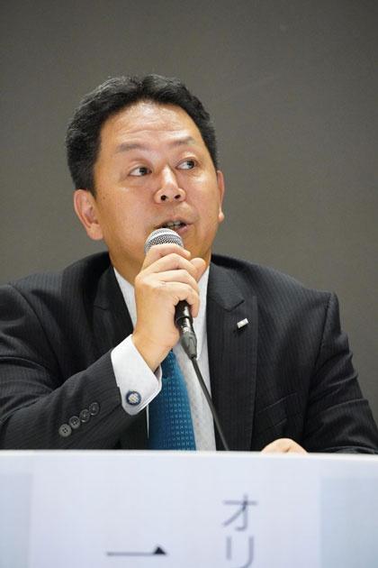 オリックス 執行役グループ人事・総務本部長 三上康章氏