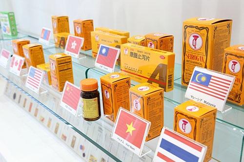 正露丸は中国、台湾、マレーシアなど海外展開にも力を入れる