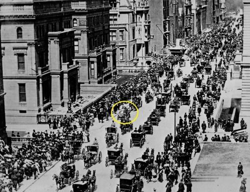 1900年に撮影されたニューヨーク5番街の様子(写真:TopFoto/アフロ)