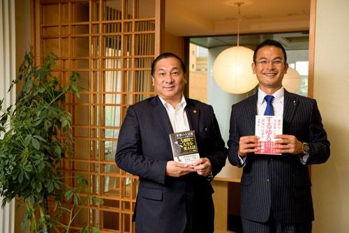 トニー野中氏(左)と大城太氏