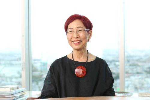 社会学者の上野千鶴子氏(写真/陶山 透)