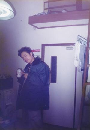 留学前、10代後半の道脇氏。この頃から午後の紅茶が好きで、ひたすら飲んでいたという。