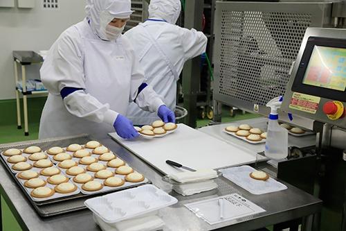 北海道札幌市にあるBAKEの工場