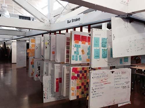スタンフォード大学の「dスクール」でブレインストーミングに使われている道具