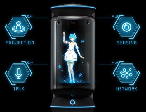 好きなキャラクターと一緒に暮らせる 世界初のバーチャルホームロボット「Gatebox」