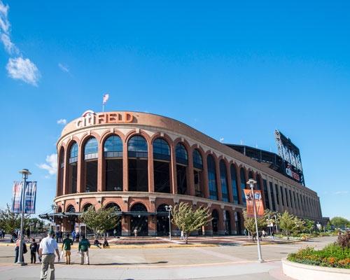 米国で最も高額な命名権契約を結んでいる「Citi Field」。2009年にオープンしたMLBニューヨーク・メッツの新球場で、シティグループ(Citigroup)が共同設立パートナーとなった。(写真=山口裕朗/アフロ)