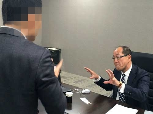 PCを使った田中さんの説明に思わず身を乗り出す。