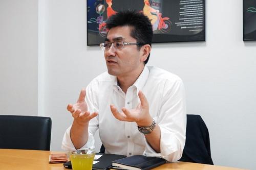 本田技術研究所の主任研究員、古舘茂(ふるたて・しげる)さん