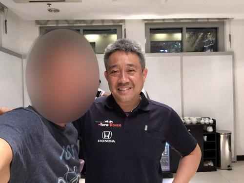 ホンダのモータースポーツ部長、山本雅史さん