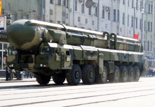 ロシアが配備しているICBM「トーポリ」(ロシア語版Wikipediaより)